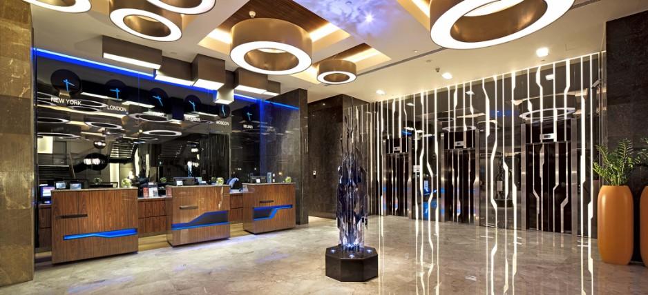 Hotelbeleuchtung - SLS Swiss Lighting Solution